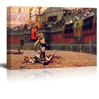 "Wall26 - Pollice Verso by Jean-Leon Gerome - Canvas Print Wall Art - 24"" x 36"""