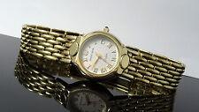Daniel Mink 1771 K Bolero Gold Finished Date Swiss Women's Rare Watch