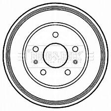 Brake Drum fits FORD FOCUS Mk2 Rear 1.6 1.6D 04 to 12 228.3mm B&B 1327834 New