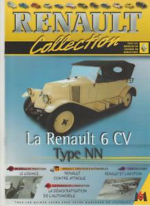 FASCICULE COLLECTION RENAULT - LA RENAULT 6 CV TYPE NN