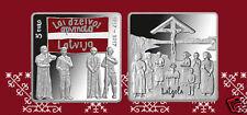 5 Euro 2017 SILVER COIN Latvia LETTLAND  Latgale Kongress 100 - Jesus Christ