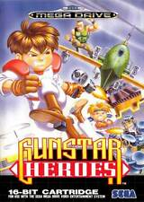 "Sega Megadrive (NO GAME) GUNSTAR HEROES Box Cover FRIDGE MAGNET 2.5""x3.5"""