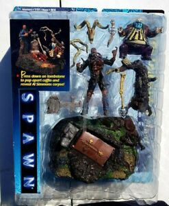 Spawn The Movie Graveyard Playset 1997 Todd McFarlane toys