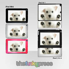 Cute Dogs iPad 2 3 4 Mini 4 Air 1 2 9.7 Hard Back Cover Case Variety of Designs