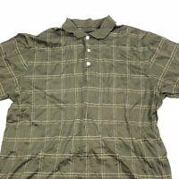 Men's Size Medium Donald J Trump Signature Collection Green Polo Shirt
