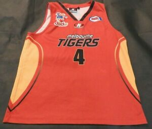 NBL Melbourne Tigers #4 Daryl Corletto Jersey L