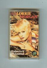 LORRIE MORGAN - TRAINWRECK OF EMOTION  - CASSETTE - NEW