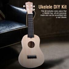 """21"""" Ukelele Ukulele 4 stringhe Stringed tiglio DIY Kit Basswood Ukelele"""