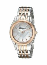 Salvatore Ferragamo Women's FG4080015 Lirica Mother of Pearl Swiss Watch