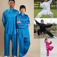 Adults Children Shaolin Martial Arts Uniforms South Korea Silk Tai Chi Clothing