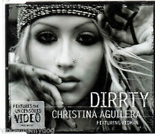 CHRISTINA AGUILERA - DIRRTY (4 track CD single)