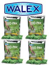 4x Walex Bio Pak Holding Tank Deodorizer Portable Toilet Chemical - Caravan, RV