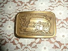 1982 SHIPPINGPORT ATOMIC POWER STATION BRASS BELT BUCKLE