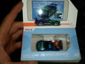 Hot Wheels id Custom 18 Ford Mustang GT series 2 Limited Edition
