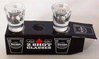 Sierra Tequila Gift Boxed 2 Shot Glasses