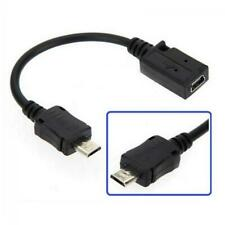 F/M Adapter Mini A 5 Pin Female to Micro B Male Data Cable Converter USB 2.0