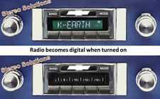 64-66 Chevy Truck  NEW USA-630 II* 300 watt AM FM Stereo Radio iPod, USB, Aux in