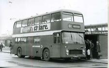 Lincolnshire 1975 built Bristol VRT Bus 1917 JTL772N to Spalding real photograph