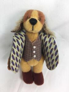 "World of Miniature Bears 3"" Plush Dog Wilberth #1217 Closing"