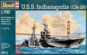 Revell 05111 U.S.S. Indianapolis 1/700 scale plastic model battleship kit