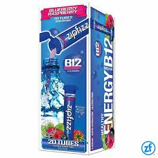 Zipfizz Energy Drink-Blue Raspberry - 20 ct., Loaded with antioxidants,814699