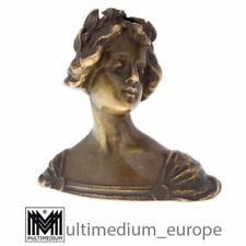 Entzückende kleine antike Jugendstil Bronze Damen Büste lady 🌺🌺🌺🌺🌺