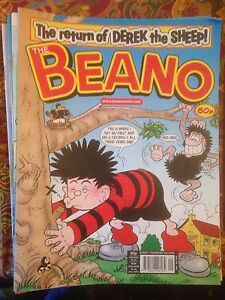 Beano Numbers 3330 - 3339 2006 Ex Cond