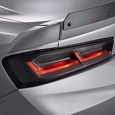 Gen 6 Camaro Rear Dark Smoked Tail Lights Lamp Blackouts Chevrolet 2016 2017