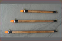 Balsa slider fishing floats 5BB, 3AAA, 4AAA - ideal river trotters (Slider)