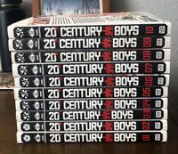 20TH CENTURY BOYS Vol 1-10 Naoki Urasawa Manga Viz Signature Paperbacks English