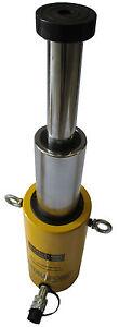 15 ton 300mm Télescope Vérin de levage hydraulique Cilindro hidráulico idraulico