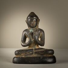 antique Burmese Shan . figure de Bouddha Birmanie