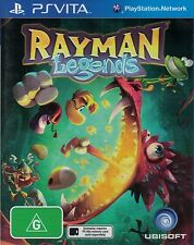 Rayman Legends, PS Vita game complete, Used