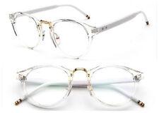 Antique Myopia Eyeglass Frames Clear Plain Glasses Vintage Glasses men women Rx