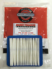 GENUINE BRIGGS & STRATTON Air Cleaner Filter 491588S SUITS VARIOUS LAWNMOWER ENG