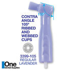 Dental Disposable Prophy Angles Regular Latex Free Contra Angle 105° - 500pcs
