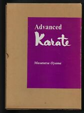 Advanced Karate by Masutatsu Oyama (1970, 1st Edition  w/Slipcase and Cover)