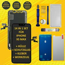 Display für iPhone XS MAX RETINA OLED Bildschirm LCD Touch Screen Schwarz Black