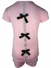 Vêtements col rond manches courtes pour fille de 4 à 5 ans