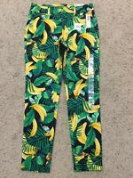 NWT Old Navy Mid-Rise Banana Print Pixie Ankle PANTS Size 2 NEW C20