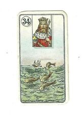 1926 Carreras Fortune Telling Card 34 Fish