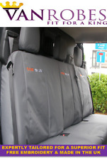 Ford Transit Custom Cab in. (2013 on) Tailored Rear Seat Covers. Free Embroidery