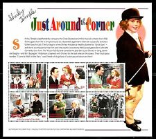 SELLOS  CINE. DOMINICA 2002 JUST AROUND THE CORNER. SHIRLEY TEMPLE 6v. MH