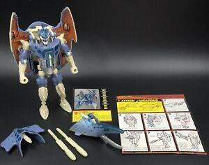 Beast Wars Transformers 1997 CYBERSHARK 100% CompleteDeluxe Class Maximal