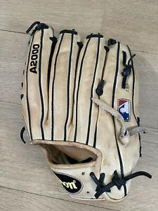"""Wilson A2000 KP92 12.5"""" right hand catch LHT baseball glove"""