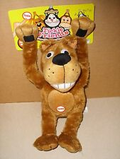 WOODY O' TIME TICKLE FRIENDS PLUSH LAUGHING SHAKING ANIMATED PUPPY DOG 12'' NEW
