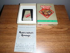Montezuma's Revenge  Coleco Vision Video Game Parker Brothers Boxed Complete