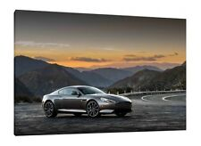 2016 Aston Martin DB9 GT - 30x20 Inch Canvas - Framed Picture Poster Print