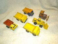 LOT Matchbox Hot Wheels Dump Truck Loader Site 28 Atlas 23 Faun 58 Dumptruck