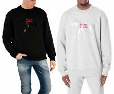Diesel S Bay Sa Sudadera para Hombre Manga Larga Jersey Suéter Grande Ajustado